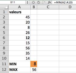 fonction multiplication sur excel