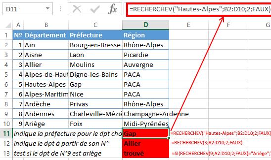 Excel_RECHERCHEV_1