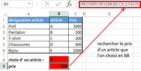 Excel_RECHERCHEV_2