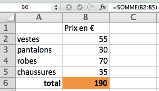 Excel_Somme
