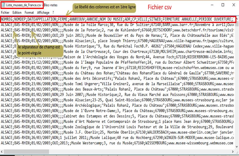 Excel_fichier CSV