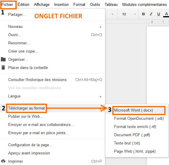 fichier orange mail