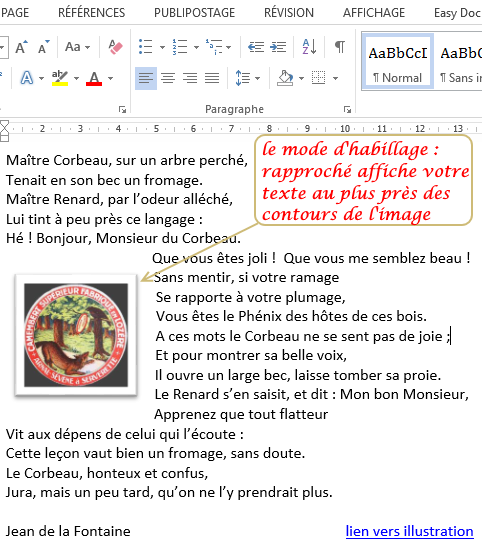 comment ins u00e9rer une image dans un document word
