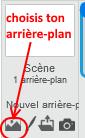 menu arrierre-plan